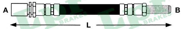 Тормозной шланг LPR арт. 6T46456