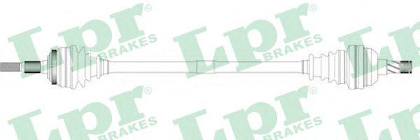 Приводной вал LPR арт. DS37017