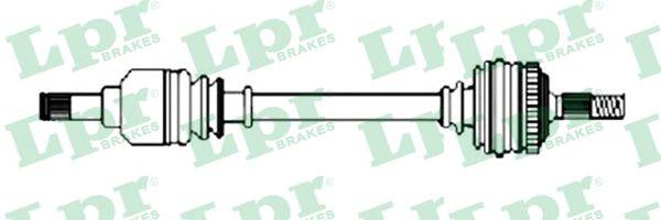 Приводной вал LPR арт. DS37081