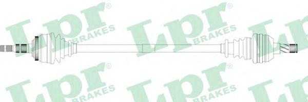 Приводной вал LPR арт. DS37088