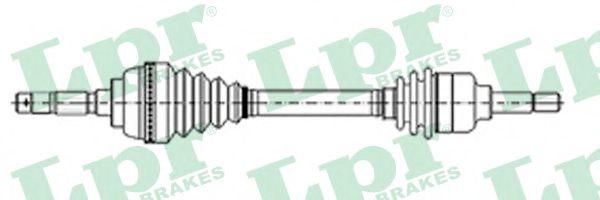 Приводной вал LPR арт. DS37117