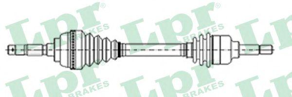 Приводной вал LPR арт. DS37118