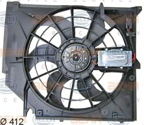 Вентилятор, охлаждение двигателя HELLA арт. 8EW351038391