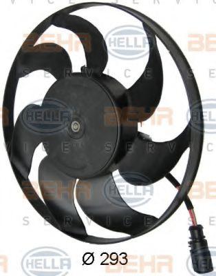 Вентилятор, охлаждение двигателя HELLA арт. 8EW351040391