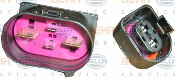 Вентилятор, охлаждение двигателя HELLA арт. 8EW351040401