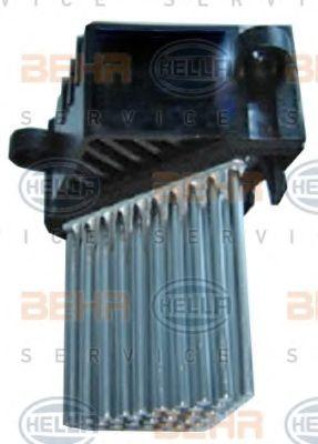 Регулятор, вентилятор салона HELLA арт.