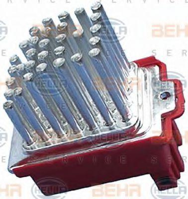 Регулятор, вентилятор салона HELLA арт. 5HL351321591