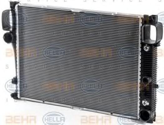 Радиатор, охлаждение двигателя HELLA арт. 8MK376700614