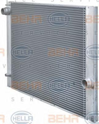 Радиатор, охлаждение двигателя арт.