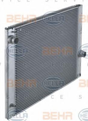 Радиатор, охлаждение двигателя HELLA арт. 8MK376729501