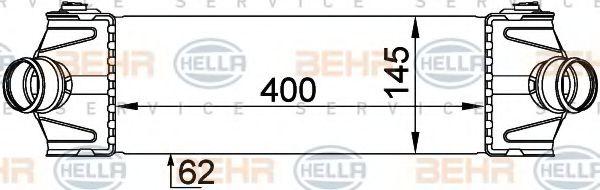 Интеркулер HELLA арт. 8ML376765101
