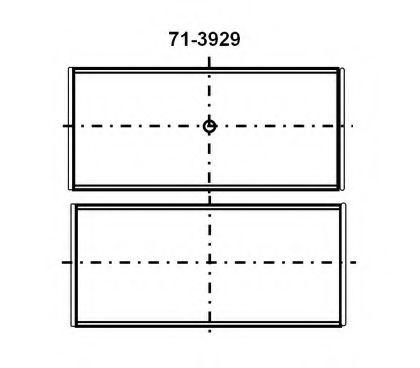 Шатунный подшипник GLYCO арт. 7139294STD
