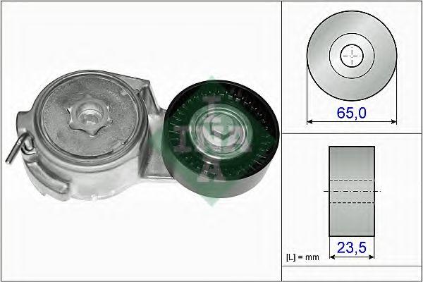 Натяжная планка, поликлиновой ремень INA арт. 534006910