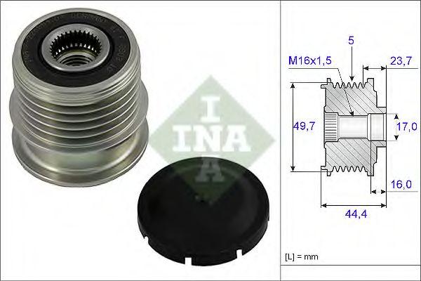 Муфта генератора INA 535001110
