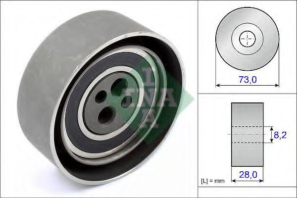 Натяжной ролик, ремень ГРМ INA арт. 531010320
