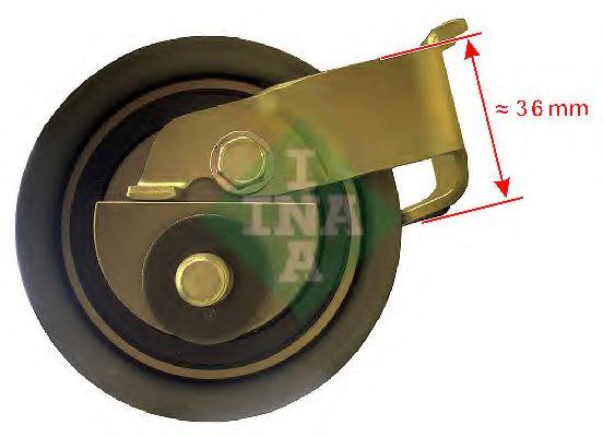Натяжной ролик, ремень ГРМ INA арт. 531050020