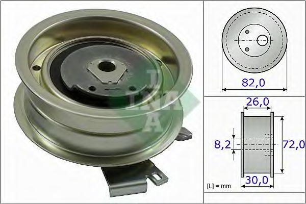 Натяжной ролик, ремень ГРМ INA арт. 531020320