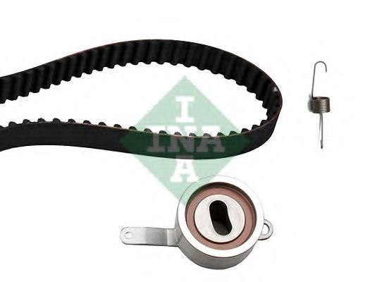 Комплект (ремінь+ролики) INA 530031310