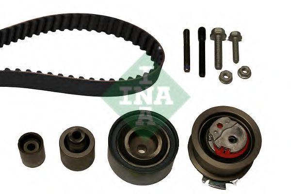 Комплект (ремінь+ролики) INA 530050310