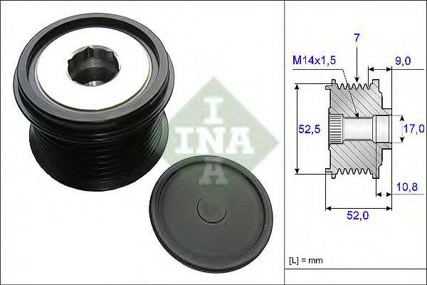 Муфта генератора INA 535020910