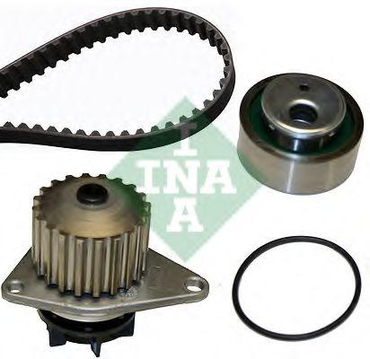 Водяной насос + комплект зубчатого ремня INA арт. 530001230