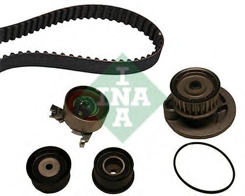 Водяной насос + комплект зубчатого ремня INA арт. 530004930