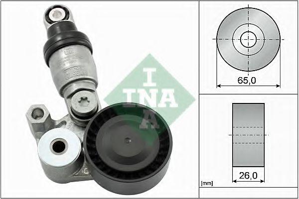 Амортизатор, поликлиновой ремень INA арт. 533012910