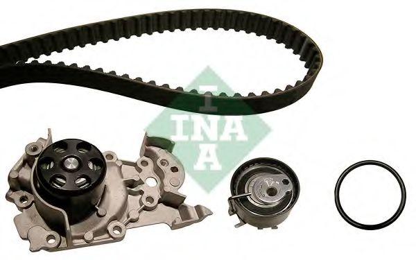 Комплект (ремінь+ролик+помпа) INA 530019530