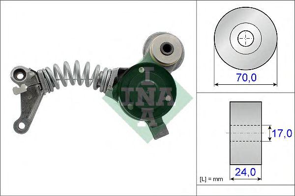Натяжитель ремня, клиновой зубча INA арт. 534041910