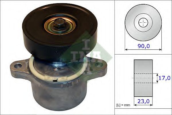 Натяжная планка, поликлиновой ремень INA арт. 534046010
