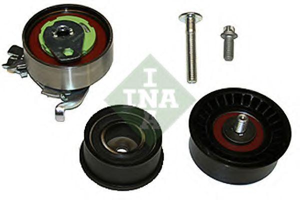 Комплект роликов, зубчатый ремень INA арт. 530007809