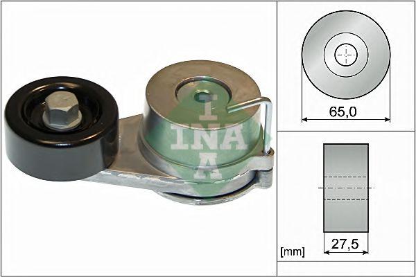 Натяжная планка, поликлиновой ремень INA арт. 534042910