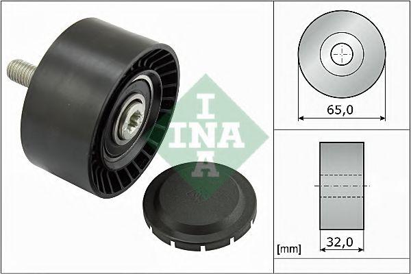 Паразитный / ведущий ролик, поликлиновой ремень INA арт. 532066010