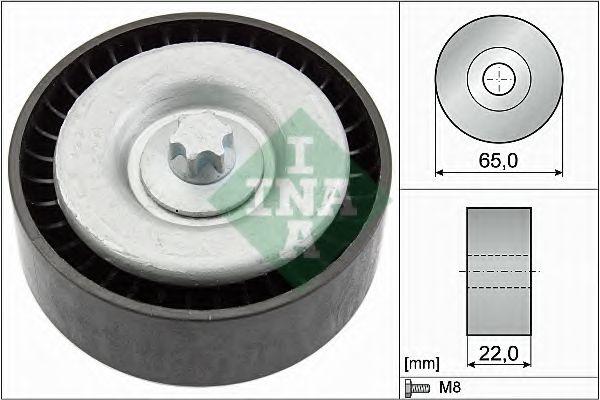 Паразитный / ведущий ролик, поликлиновой ремень INA арт. 532066710