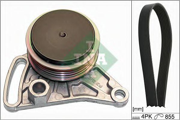 Поликлиновой ременный комплект INA арт. 529009910