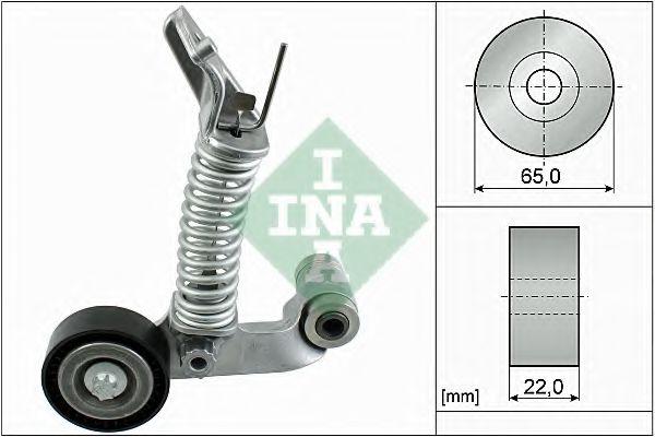 Натяжная планка, поликлиновой ремень INA арт. 534057410