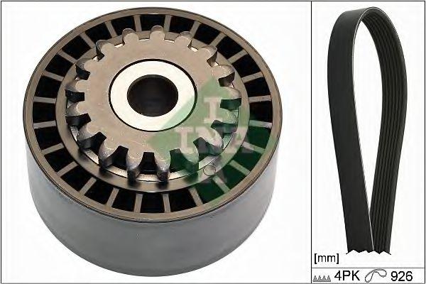 Поликлиновой ременный комплект INA арт. 529010010