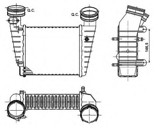 Интеркулер NRF арт. 30147A