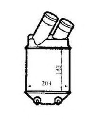 Интеркулер NRF арт. 30832