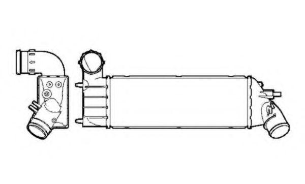 Интеркулер NRF арт. 30853