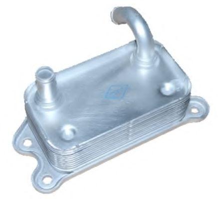 масляный радиатор, двигательное масло NRF арт. 31176