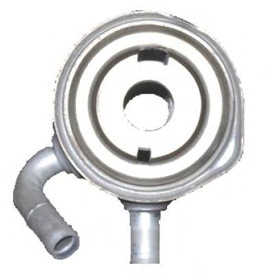 масляный радиатор, двигательное масло NRF арт. 31178