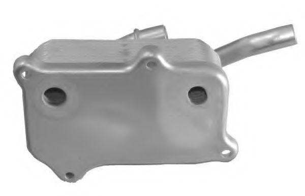 масляный радиатор, двигательное масло NRF арт. 31182