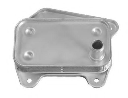 масляный радиатор, двигательное масло NRF арт. 31183