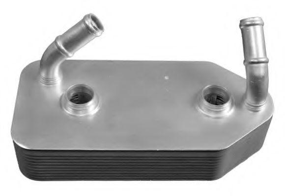 масляный радиатор, двигательное масло NRF арт. 31186