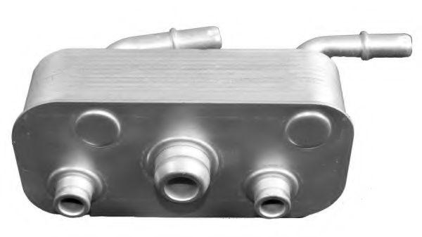 масляный радиатор, двигательное масло NRF арт. 31190
