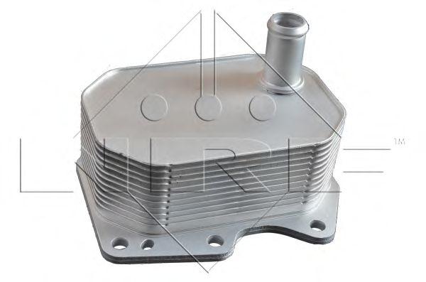 масляный радиатор, двигательное масло NRF арт. 31212