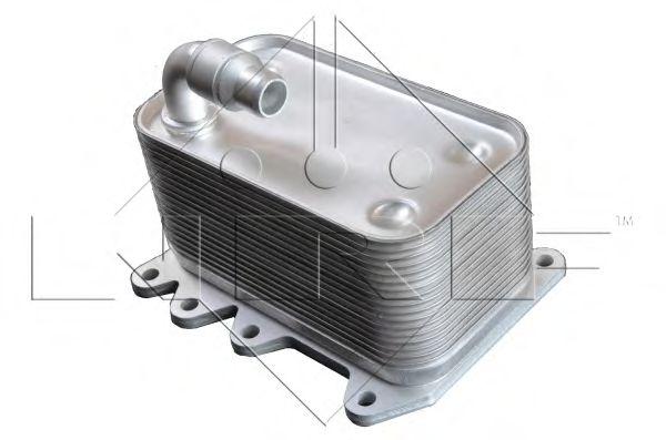 масляный радиатор, двигательное масло NRF арт.
