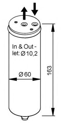 Осушитель, кондиционер NRF арт. 33023