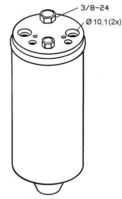 Осушитель, кондиционер NRF арт. 33121